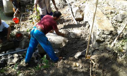 Kegiatan Pembukaan Jalan Baru Dalam Program PKT Desa Tukadsumaga